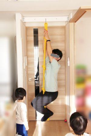 大人も使える綱登りロープ