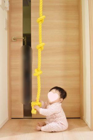 綱登りロープの長さはこんな感じ