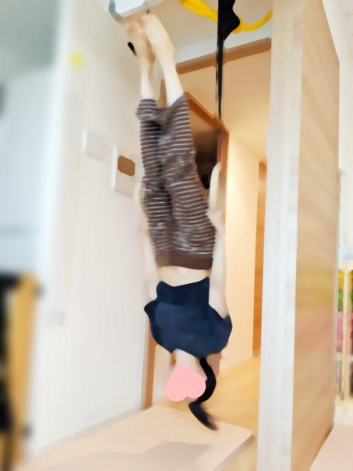 大人も十分使える体操吊り輪
