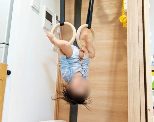1歳児にもスリリングな遊びをさせる