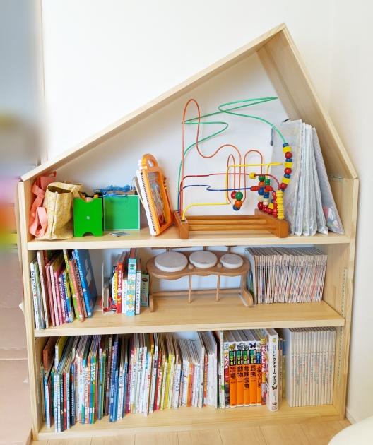 家型本棚の作り方