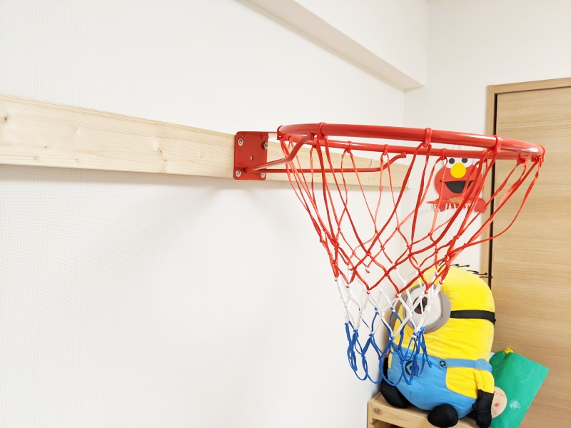 バスケリングのネジ固定