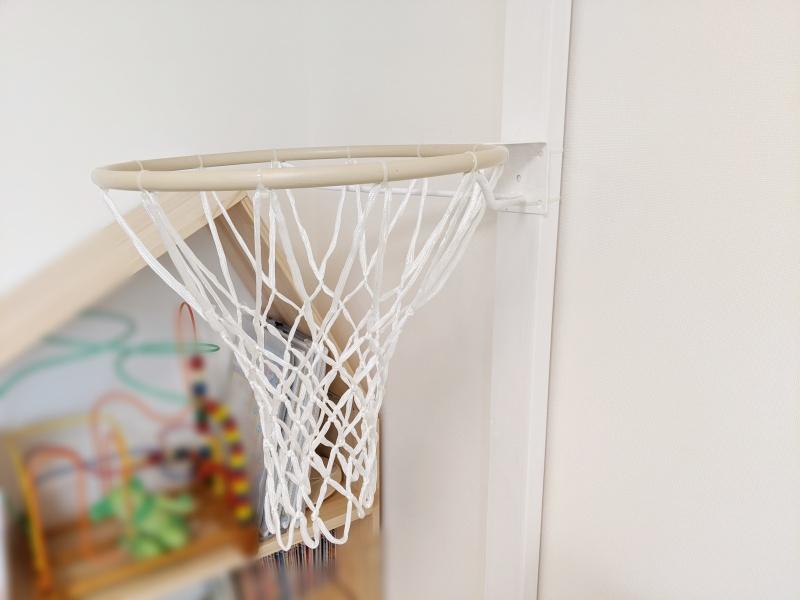 室内バスケットリングの作り方