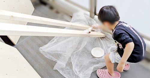 素人が素人なりに木材塗装する方法【マンションベランダDIY】